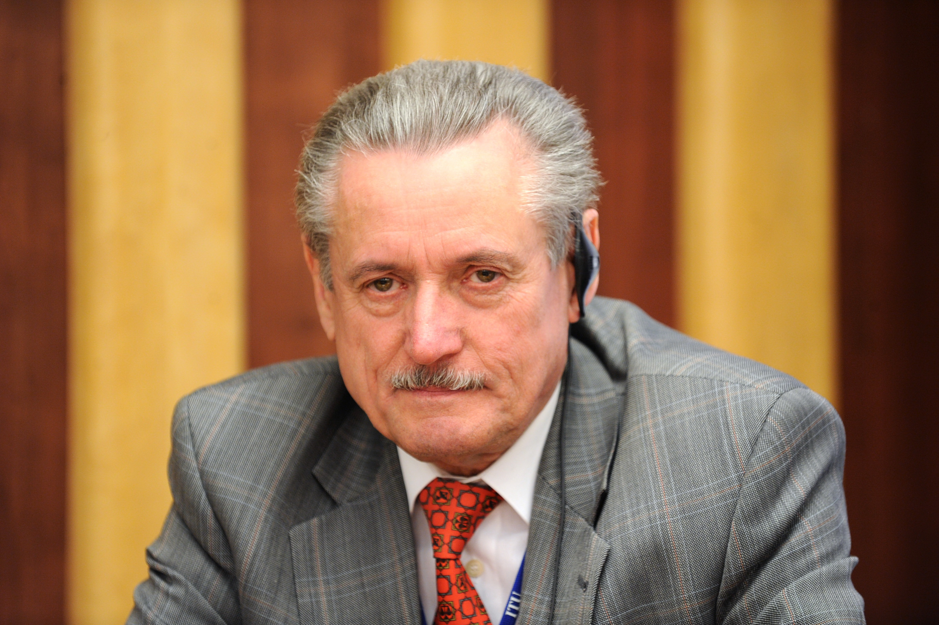 Mr Valery Timofeev, Director of the ITU Radiocommunication Bureau, at the UN Inter-Agency Meeting on Outer Space Activities 2010